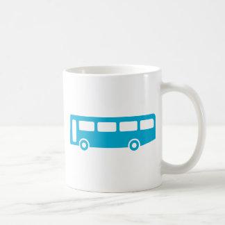 escuela del autobús taza clásica