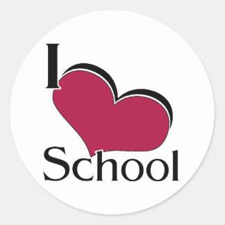 Escuela del corazón I Etiqueta