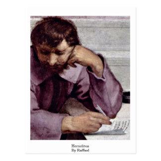 Escuela del detalle de Atenas: Heraclitus de Tarjeta Postal