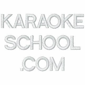 Escuela del Karaoke Camiseta Polo