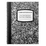 Escuela del libro de encargo de la composición/pro libreta espiral