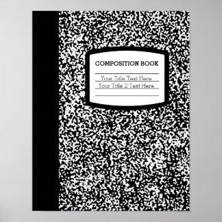 Escuela del libro de encargo de la composición/pro impresiones