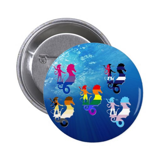 Escuela del orgullo de GLBT de Seahorses Pins