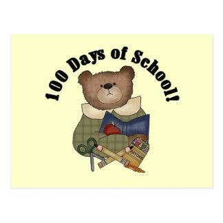 Escuela del oso de peluche 100 camisetas y regalos postal