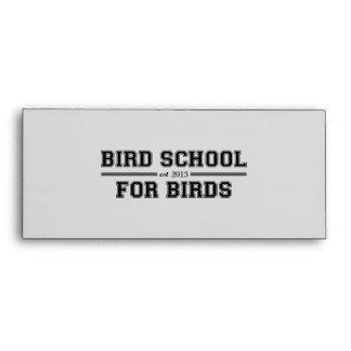 Escuela del pájaro que está para los pájaros