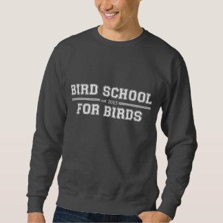 Escuela del pájaro que está para los pájaros sudaderas encapuchadas