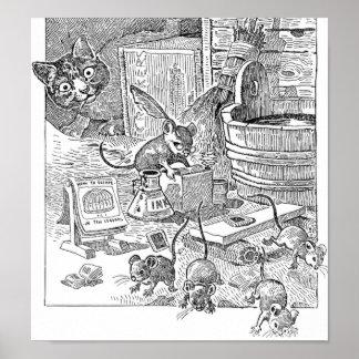 Escuela del ratón poster