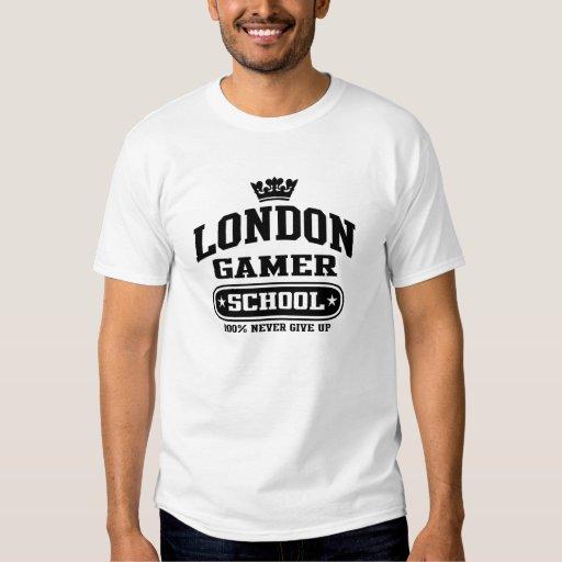 Escuela del videojugador de Londres Playera