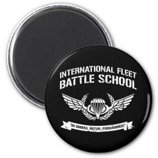 Escuela internacional Ender de la batalla de la fl Imán Redondo 5 Cm