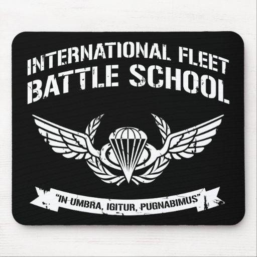 Escuela internacional Ender de la batalla de la fl Alfombrilla De Ratones