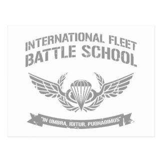Escuela internacional Ender de la batalla de la fl Postales