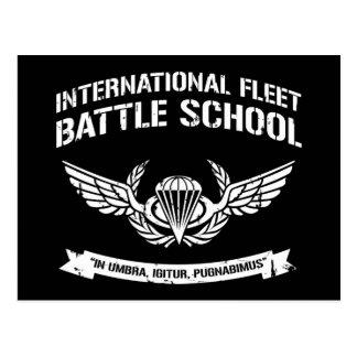 Escuela internacional Ender de la batalla de la fl Postal