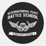 Escuela internacional Ender de la batalla de la Pegatina Redonda