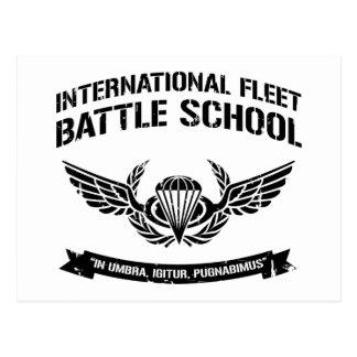 Escuela internacional Ender de la batalla de la Postal