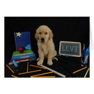 Escuela Levi Tarjeta De Felicitación