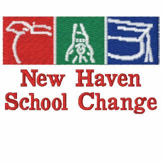 Escuela Logo2 bordado cambio de New Haven Camiseta Polo