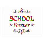 Escuela para siempre postal