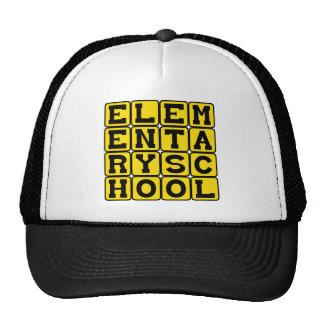 Escuela primaria escuela secundaria gorra