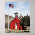 Escuela roja del Uno-Room, Wellington, Nevada Impresiones