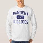 Escuela secundaria Bandera Tejas de los dogos de Camisas