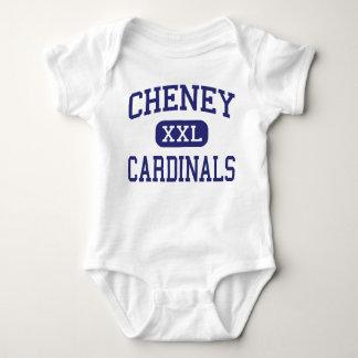 Escuela secundaria Cheney Kansas de los cardenales Tee Shirt