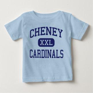 Escuela secundaria Cheney Kansas de los cardenales T-shirts