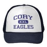 Escuela secundaria Gadsden Alabama de Cory Eagles Gorras De Camionero