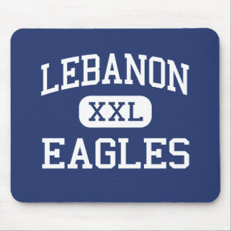 Escuela secundaria Líbano Oregon de Líbano Eagles Alfombrillas De Ratón