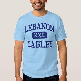 Escuela secundaria Líbano Oregon de Líbano Eagles Polera