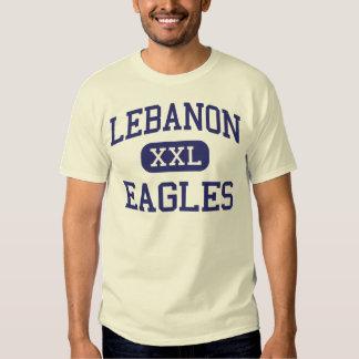 Escuela secundaria Líbano Oregon de Líbano Eagles Poleras