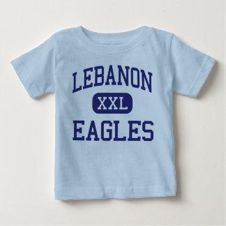 Escuela secundaria Líbano Oregon de Líbano Eagles Remera