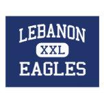 Escuela secundaria Líbano Oregon de Líbano Eagles Postal