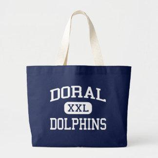 Escuela secundaria Miami la Florida de los delfíne Bolsa