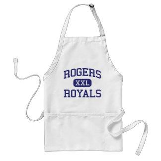 Escuela secundaria Rogers Minnesota de los Royals  Delantal
