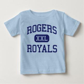 Escuela secundaria Rogers Minnesota de los Royals Tshirt