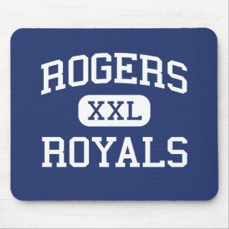 Escuela secundaria Rogers Minnesota de los Royals  Alfombrillas De Ratones