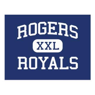 Escuela secundaria Rogers Minnesota de los Royals Postal