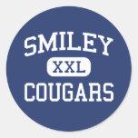 Escuela secundaria sonriente Denver Colorado de lo Pegatina
