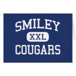 Escuela secundaria sonriente Denver Colorado de lo Tarjetón