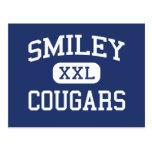 Escuela secundaria sonriente Denver Colorado de lo Tarjeta Postal