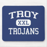 Escuela secundaria Troy Kansas de Troy de los Troj Alfombrilla De Raton