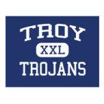 Escuela secundaria Troy Kansas de Troy de los Troj Postales