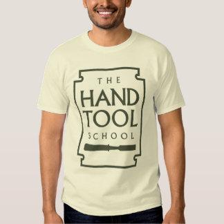 Escuela simple de la herramienta de mano polera