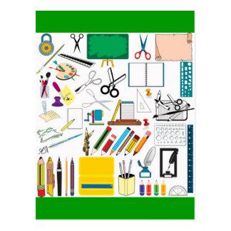 Escuela subjects3 postales