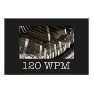 Escuela vieja… 120 WPM Poster