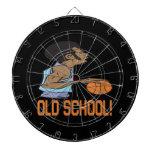 Escuela vieja 2 tablero de dardos