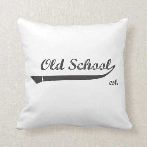 Escuela vieja almohadas