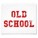 Escuela vieja arte con fotos