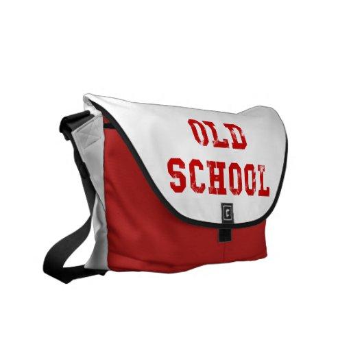 Escuela vieja bolsas de mensajeria