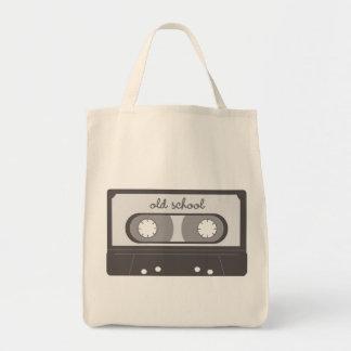 Escuela vieja bolsa tela para la compra